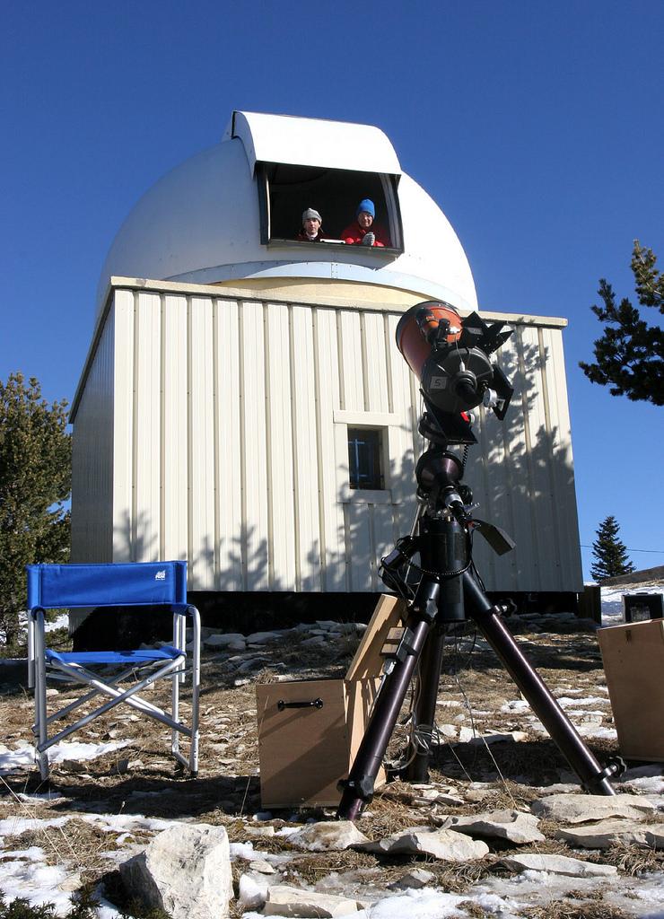 observatoire montagne de lure