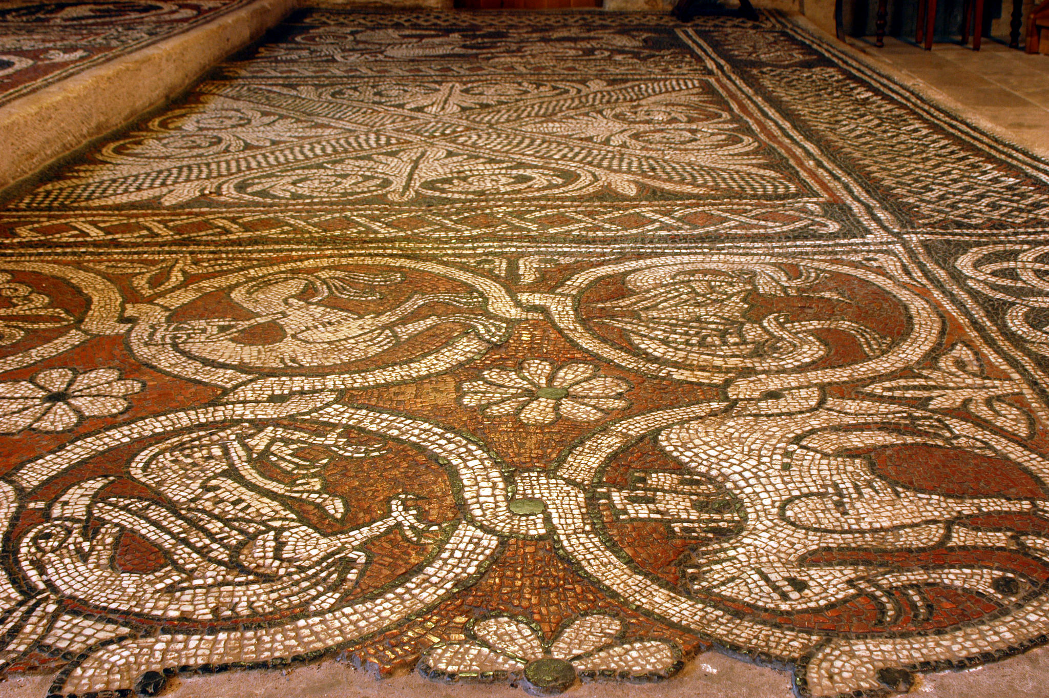 mosaique de l abbaye de ganagobie