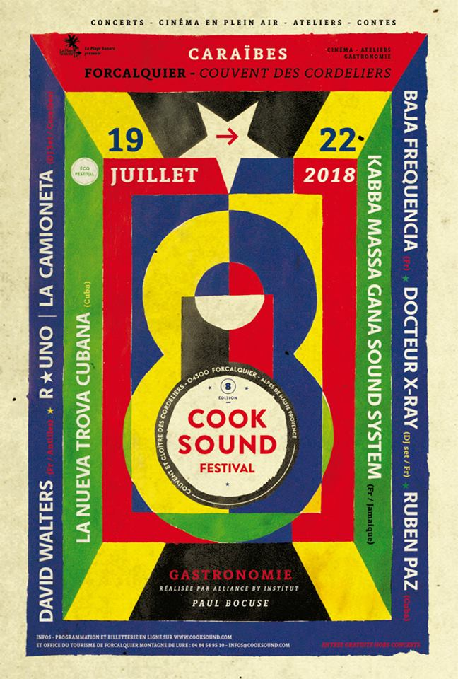 Affiche Cooksound Festival 2018