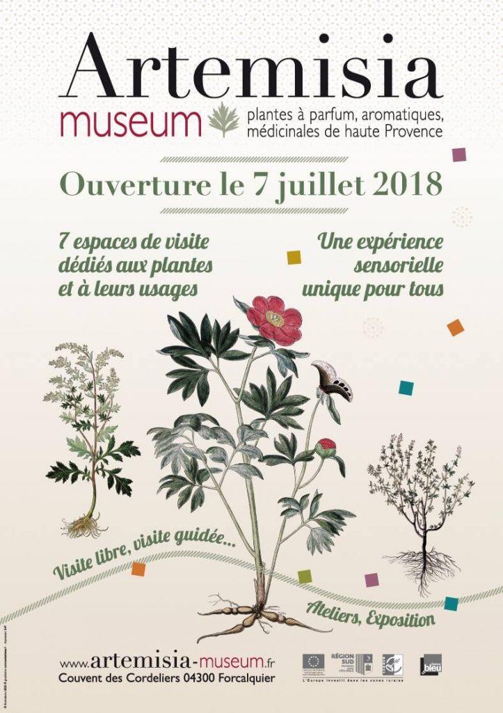 Ouverture musée Artemisia Forcalquier
