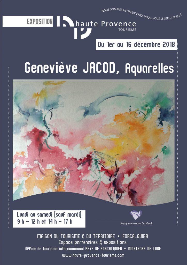 Affiche A3 JACOD Bleue