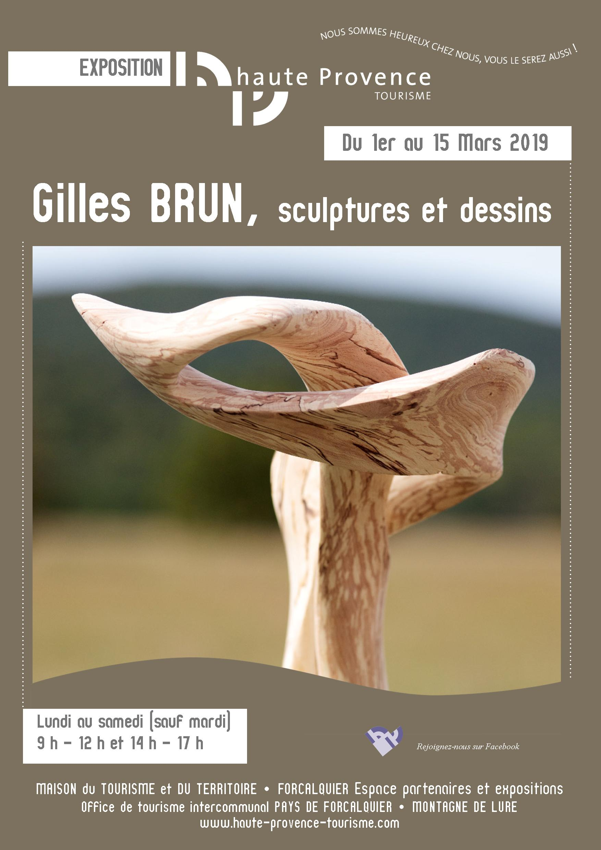 Affiche A3 BRUN GILLES