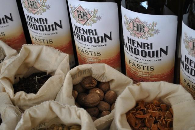 bouteilles et epices