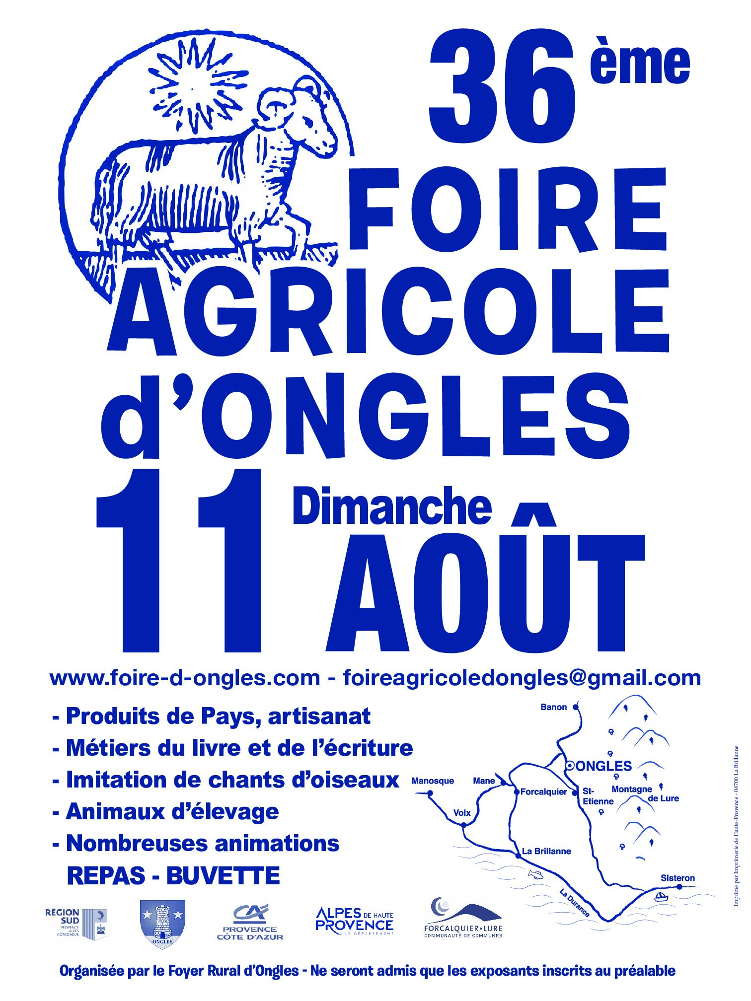 foire agricole ongles