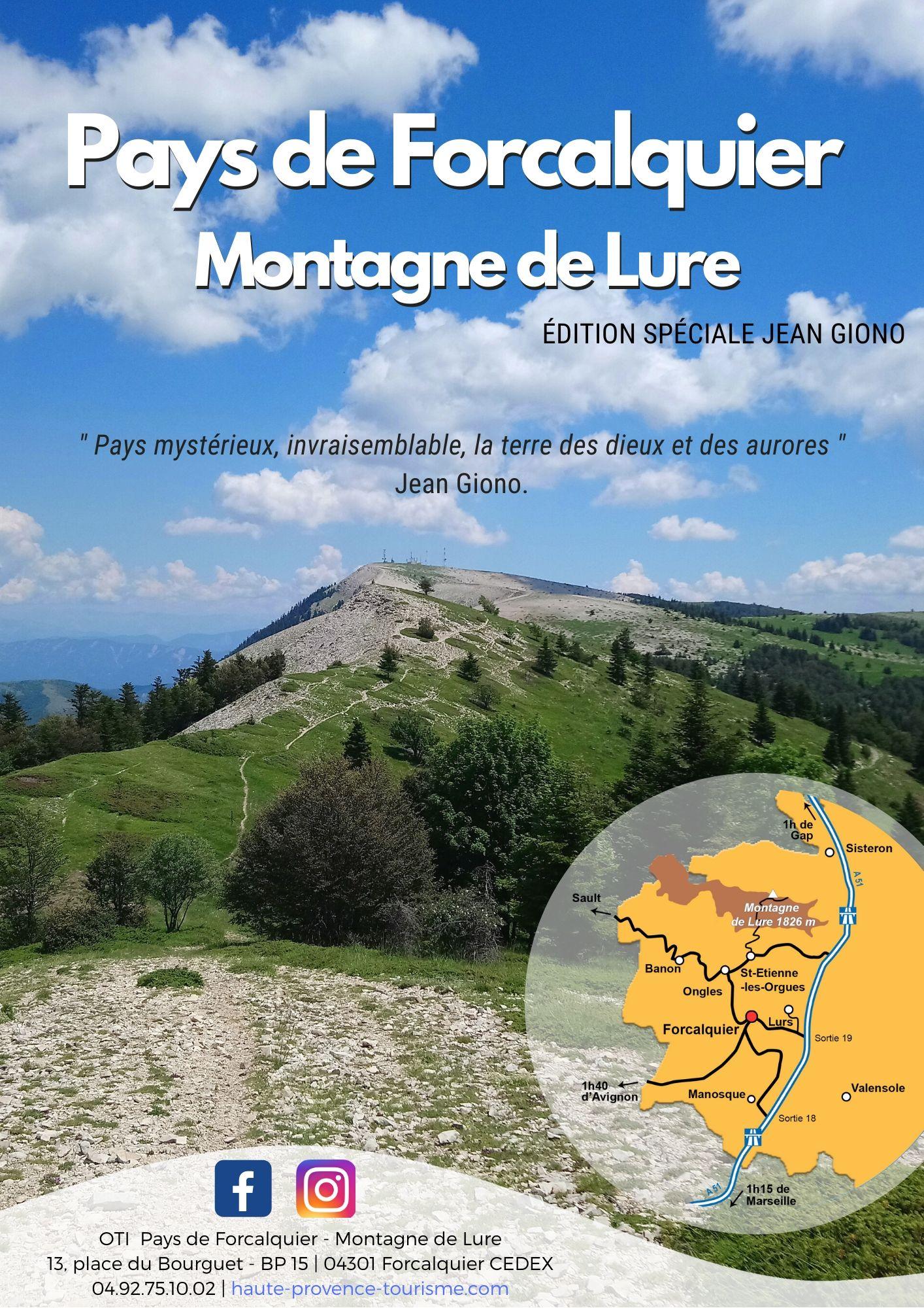 Pays de Forcalquier - Montagne de Lure