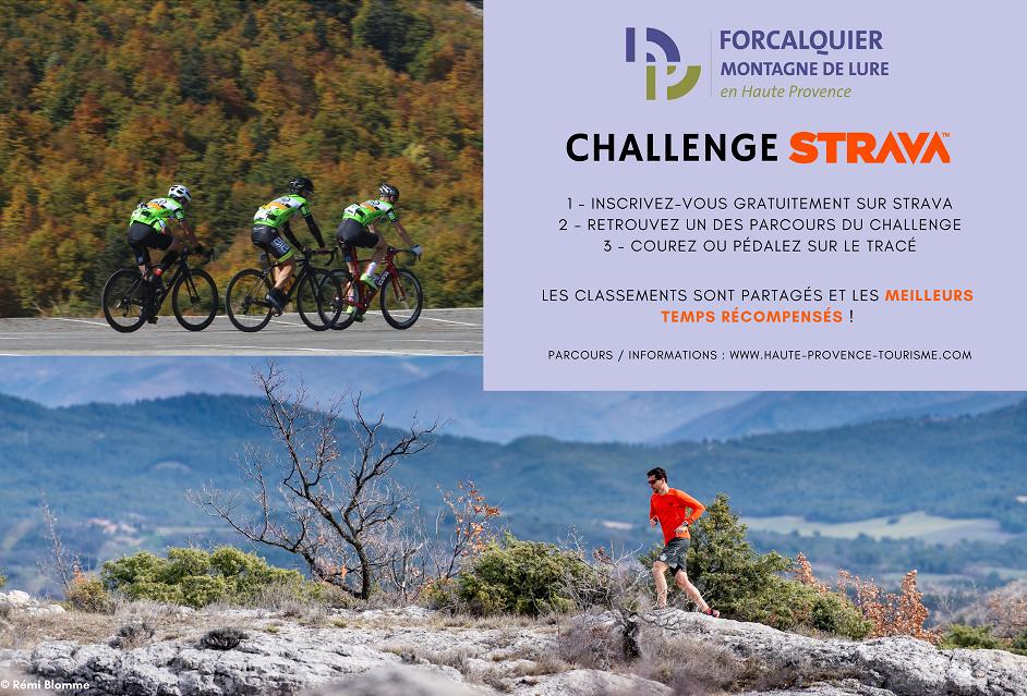 challenge Strava Forcalquier montagne de Lure vélo trail